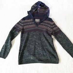 Natural Reflections Sweaters - Natural Reflections Knit Hooded Sweater